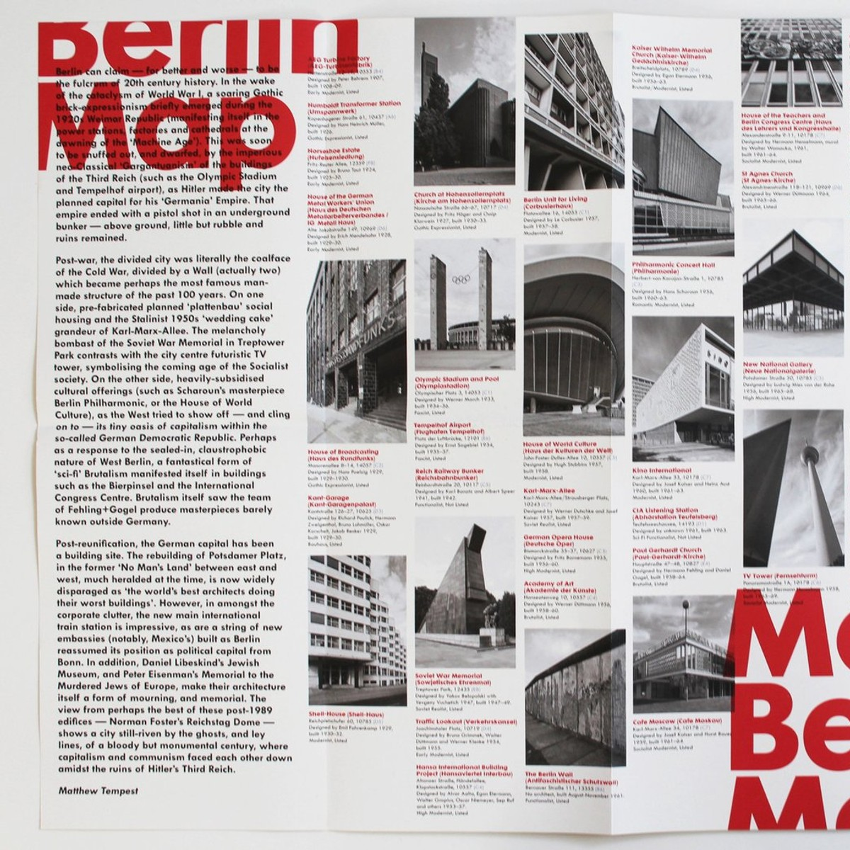 Photo of Modern Berlin Map