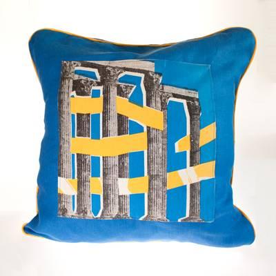Image of Roman Temple Cushion