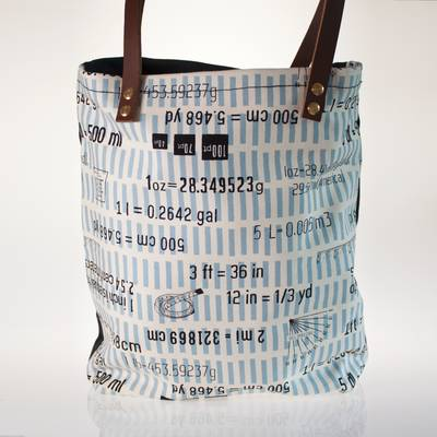 Image of Weights and Measures Tote Bag
