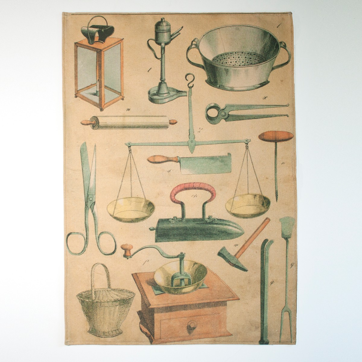 Photo of Kitchenware Bookplate Tea Towel