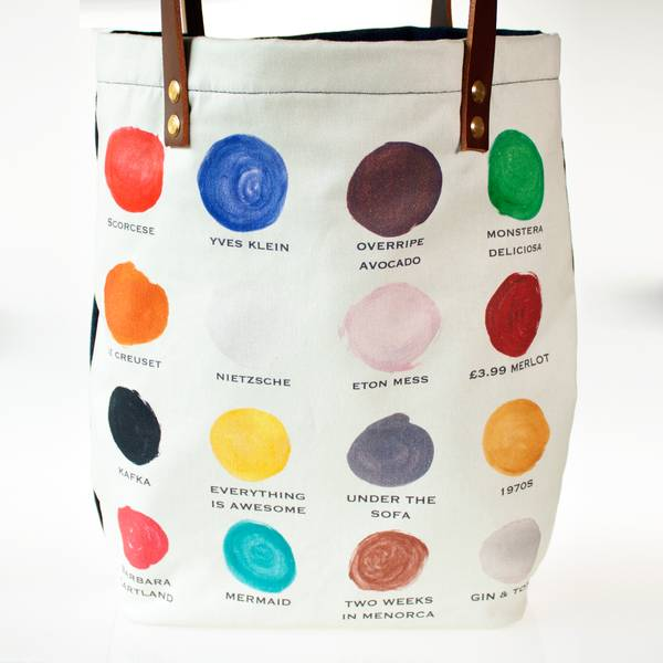 Image of Paint Palette Tote Bag