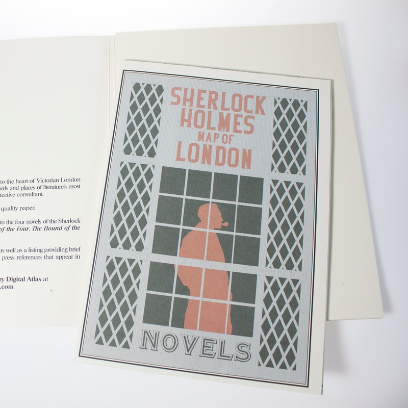 Photo of Sherlock Holmes Map of London