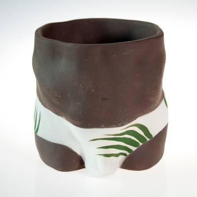 Image of Palm Trunks Steve Plant Pot