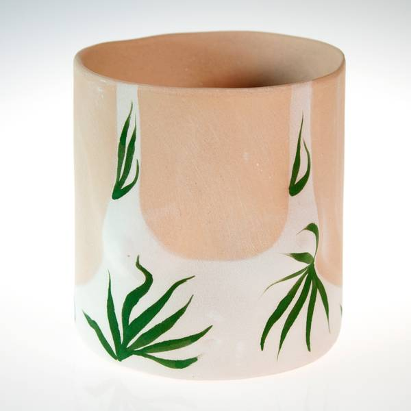 Image of Palm Boobs Patty Plant Pot