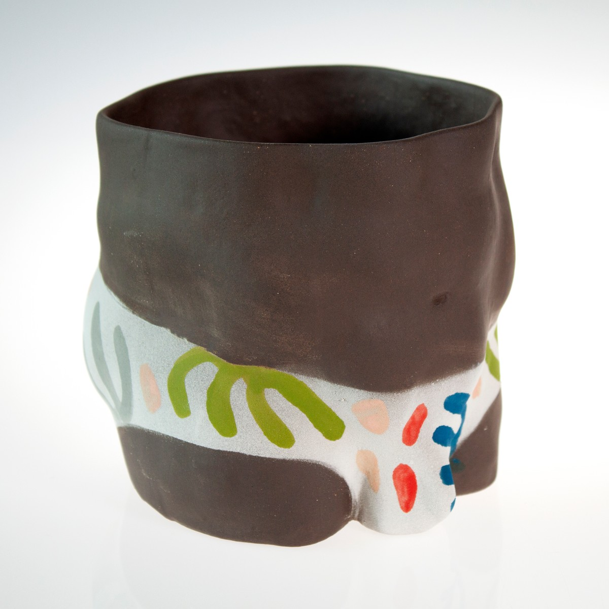 Photo of Pattern Trunks Louie Plant Pot