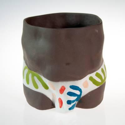 Image of Pattern Trunks Louie Plant Pot