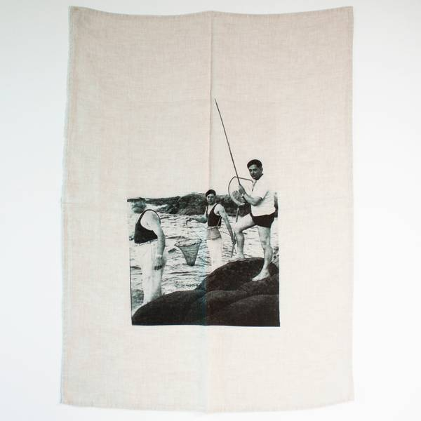 Image of The Fishermen Tea Towel