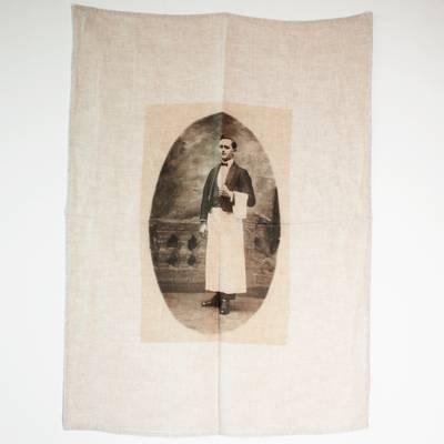 Image of The Waiter Tea Towel