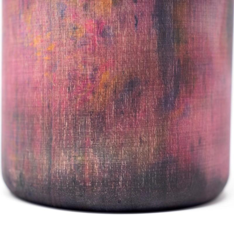 Photo of Hand Dyed Maple Wood Vase
