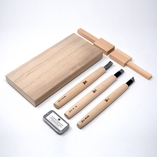 Image of Japanese Spoon Carving Kit