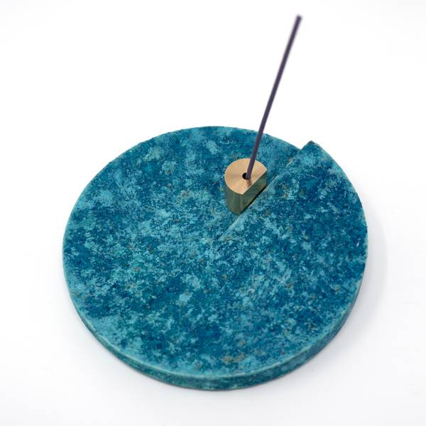 Image of Copper Patina Incense Holder