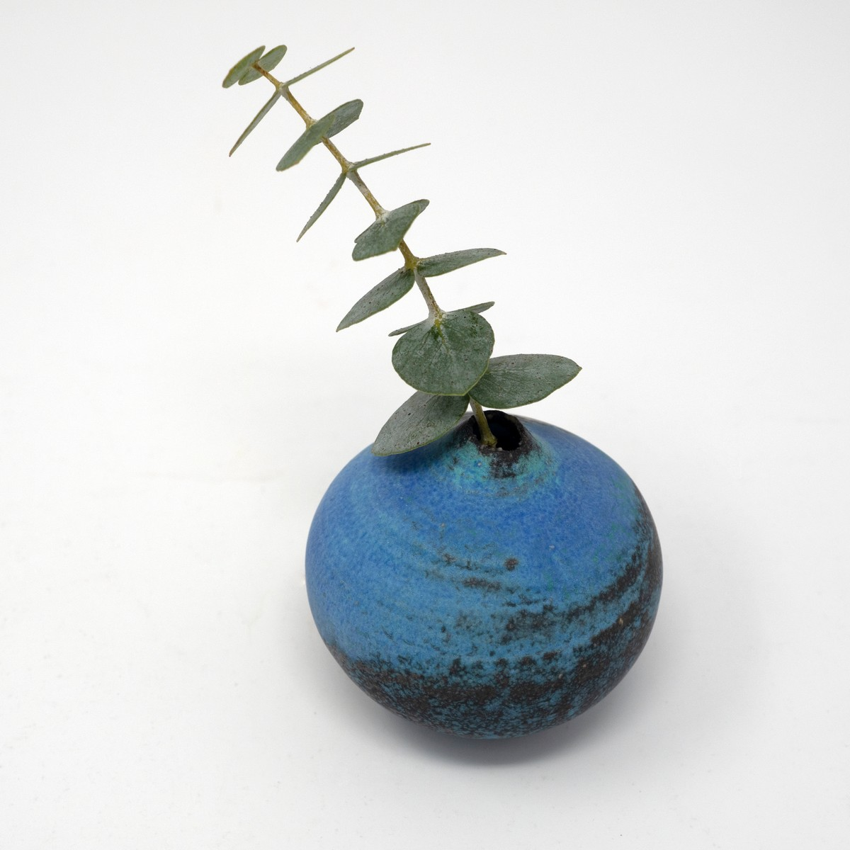 Photo of Antique Blue Totto Bud Vase