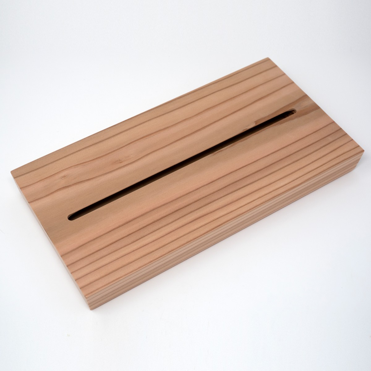 Photo of Cedar Wood Tissue Box