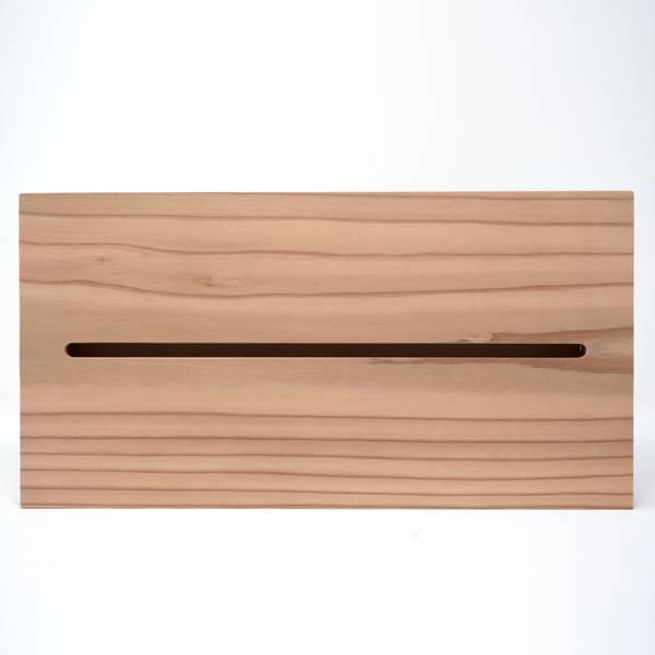 Image of Cedar Wood Tissue Box