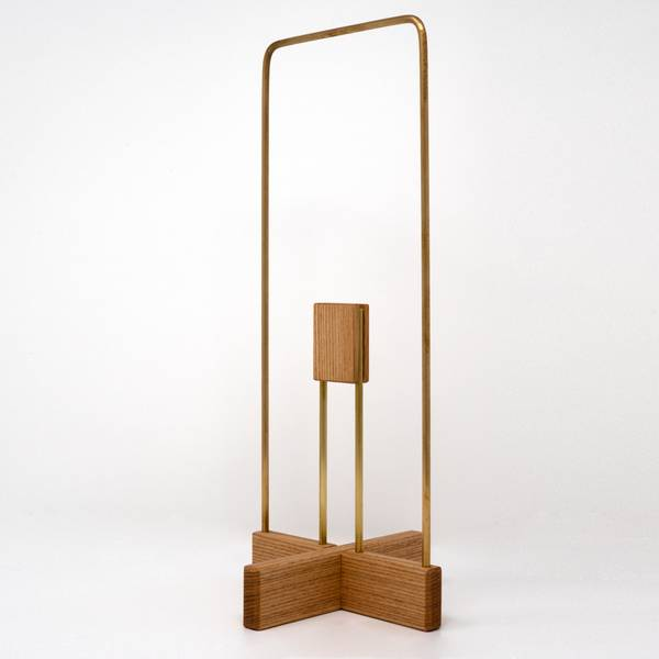 Image of Tamo Ash Toilet Paper Stand