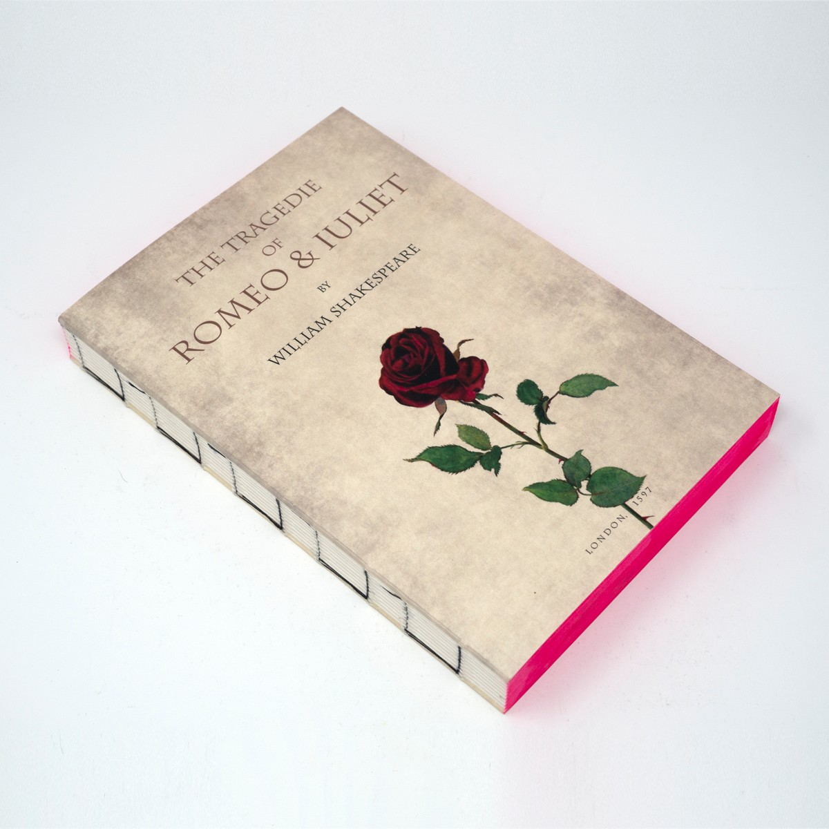 Photo of Romeo and Juliet Notebook
